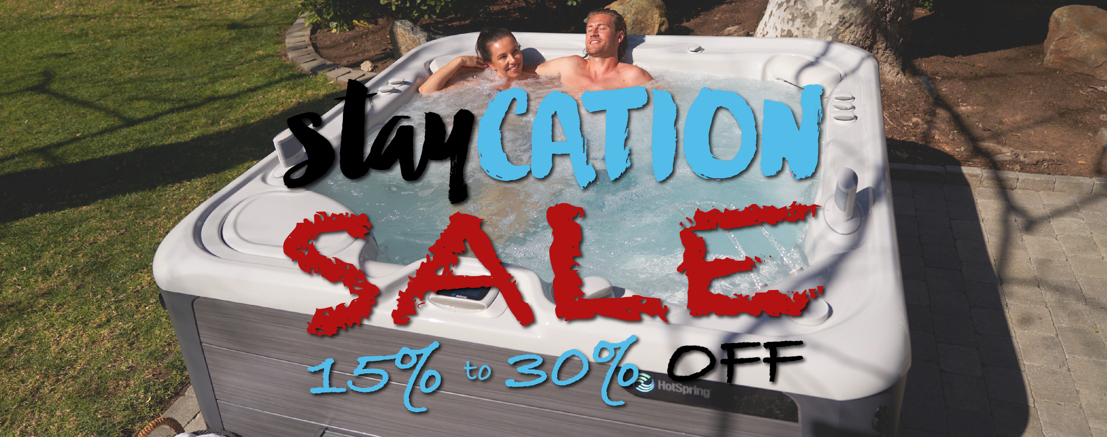 Staycation Sale - 15% to 30% Off