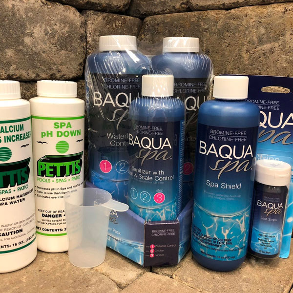 Baqua Spa Water Care Family Image
