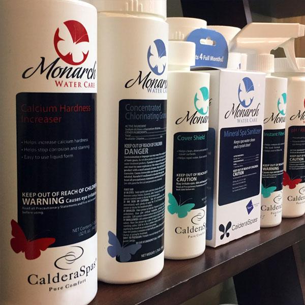 Caldera® Spas Water Care Family Image