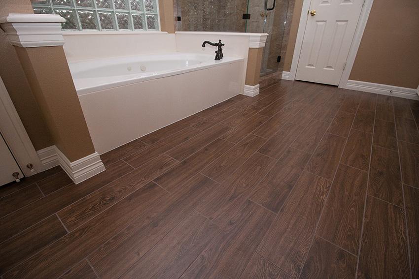Porcelain Wood Look Tile Vs Real Wood Floors Coles Fine Flooring