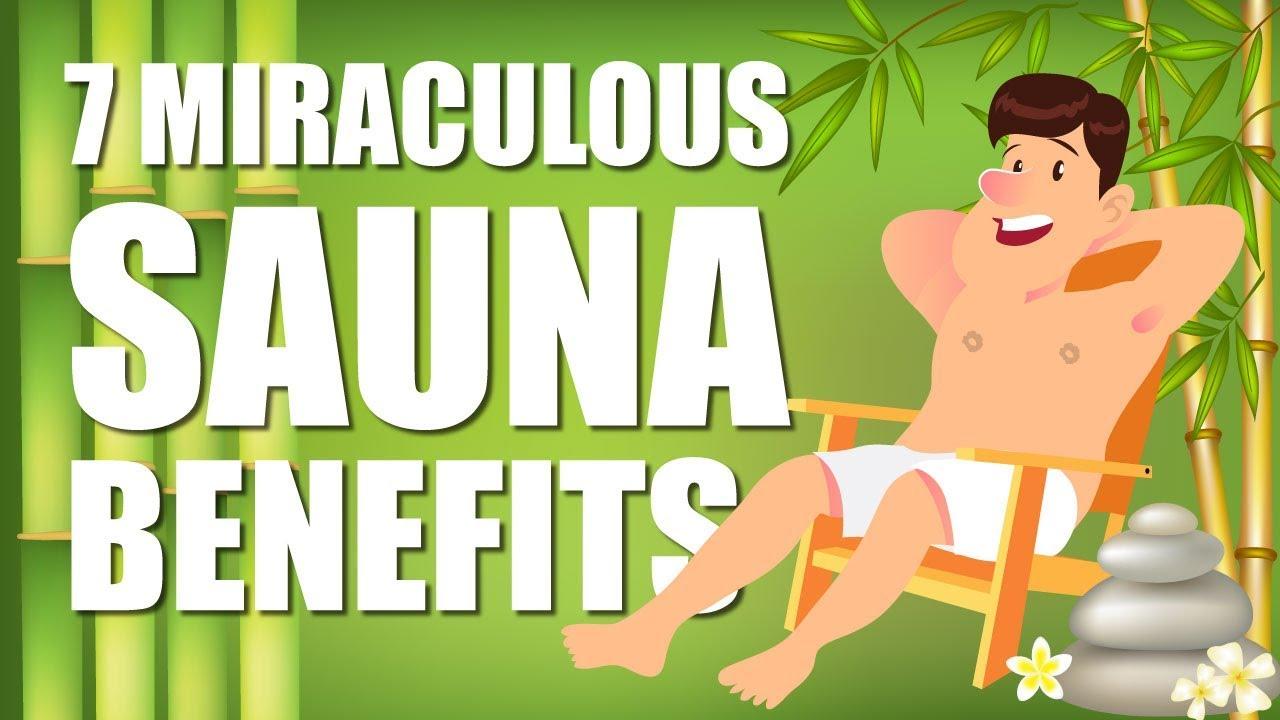 Top 7 Benefits of using a Sauna