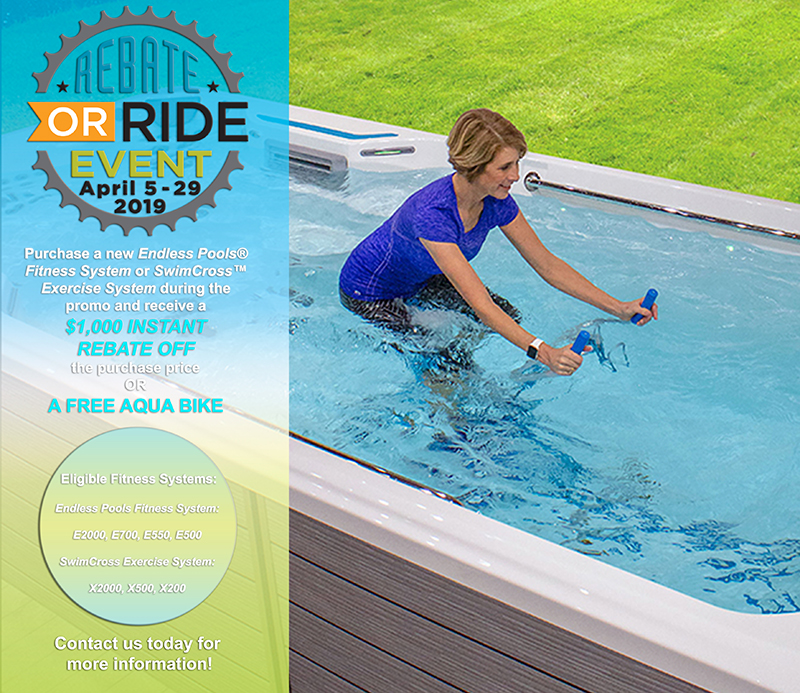 Endless Pools Rebate or Ride Event