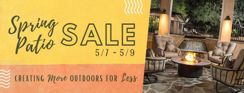 Spring Patio Furniture Sale