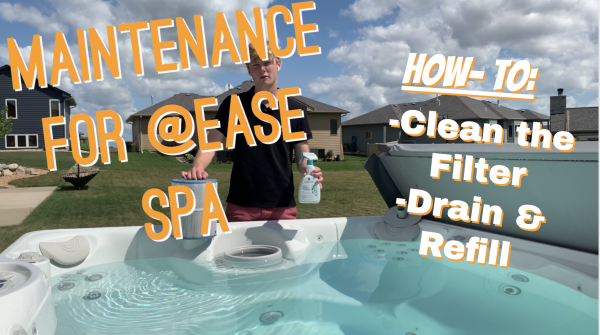 Maintenance for @Ease Spa System