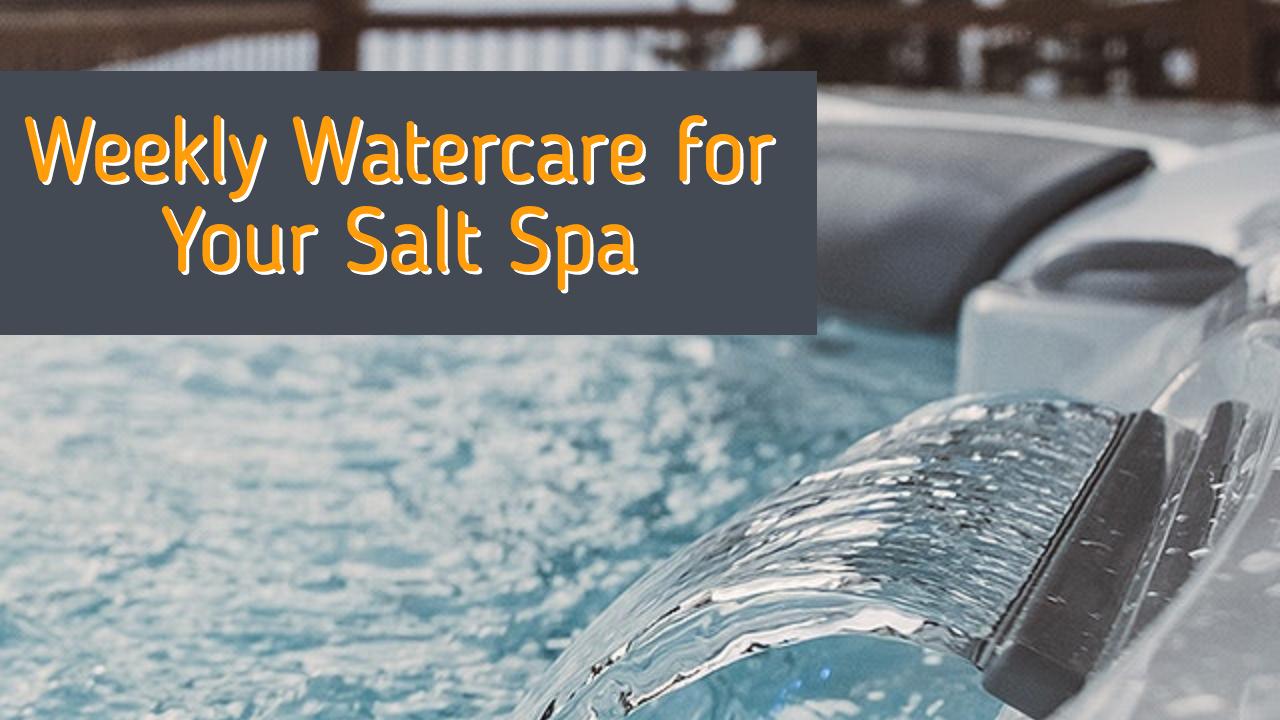 Testing & Balancing Salt System Spa