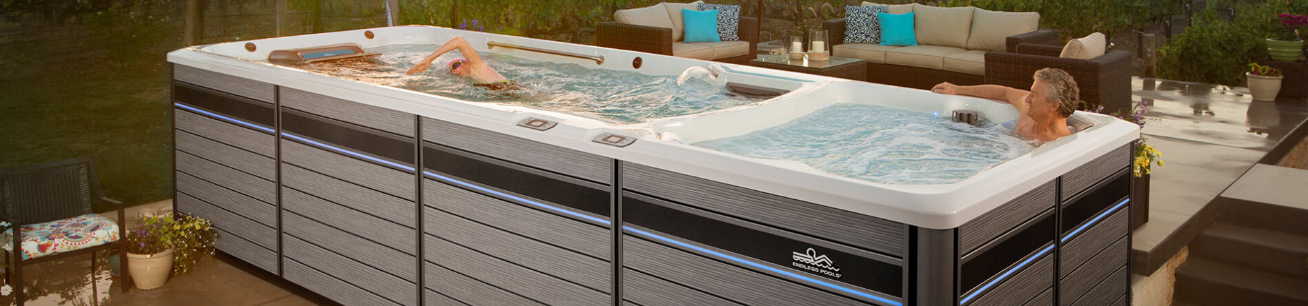 Exercise Spas and Lap Pools for Senior Health, Swim Spas Brookings