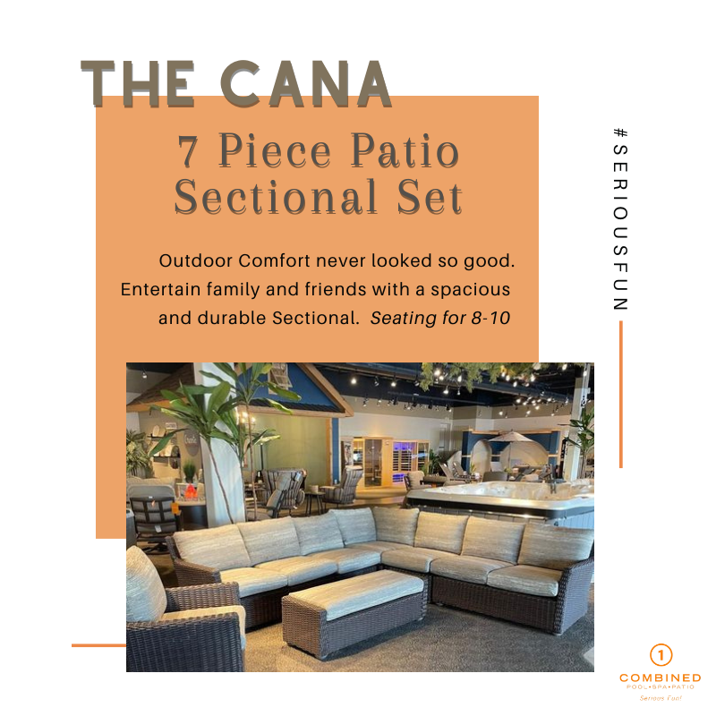Cana Sectional Outdoor Patio Furniture