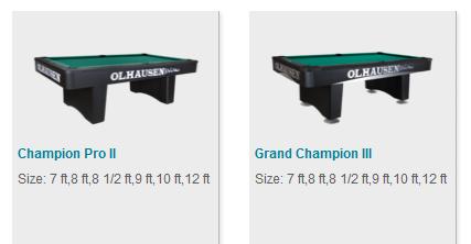 Tournament Series Pool Tables Coral Isle Swim Pools - Tournament size pool table