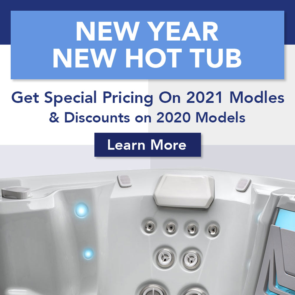 New Year New Hot Tub