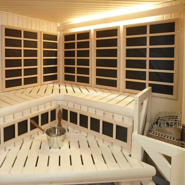 Custom Cut InfraSaunas Family Image