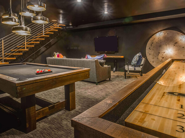 Pool Table/Game Room Service Family Image
