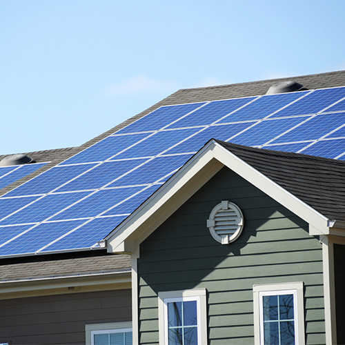 Residential Solar Repair Family Image