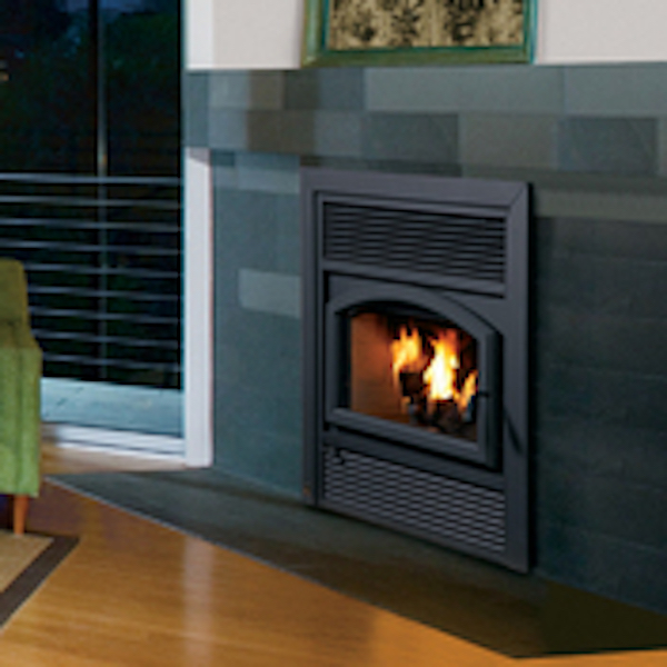 fireplace black