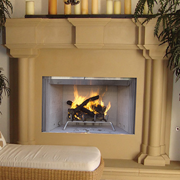 Tuscan-fireplace