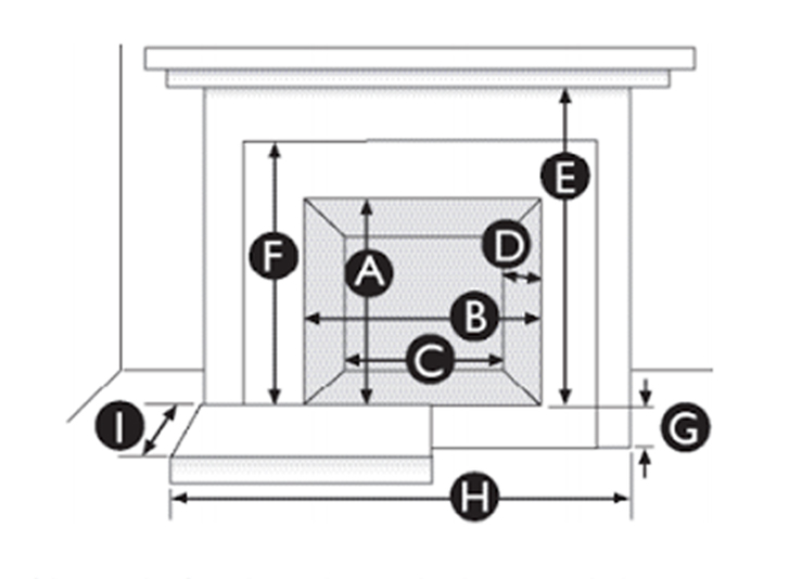Insert Measurement Diagram