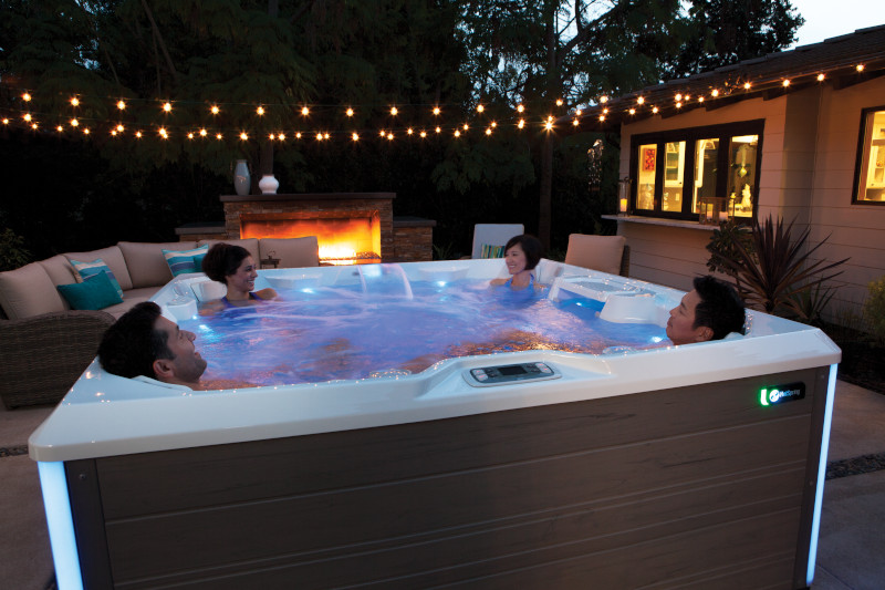 HotSpring Limelight Pulse #1 selling hot tub brand