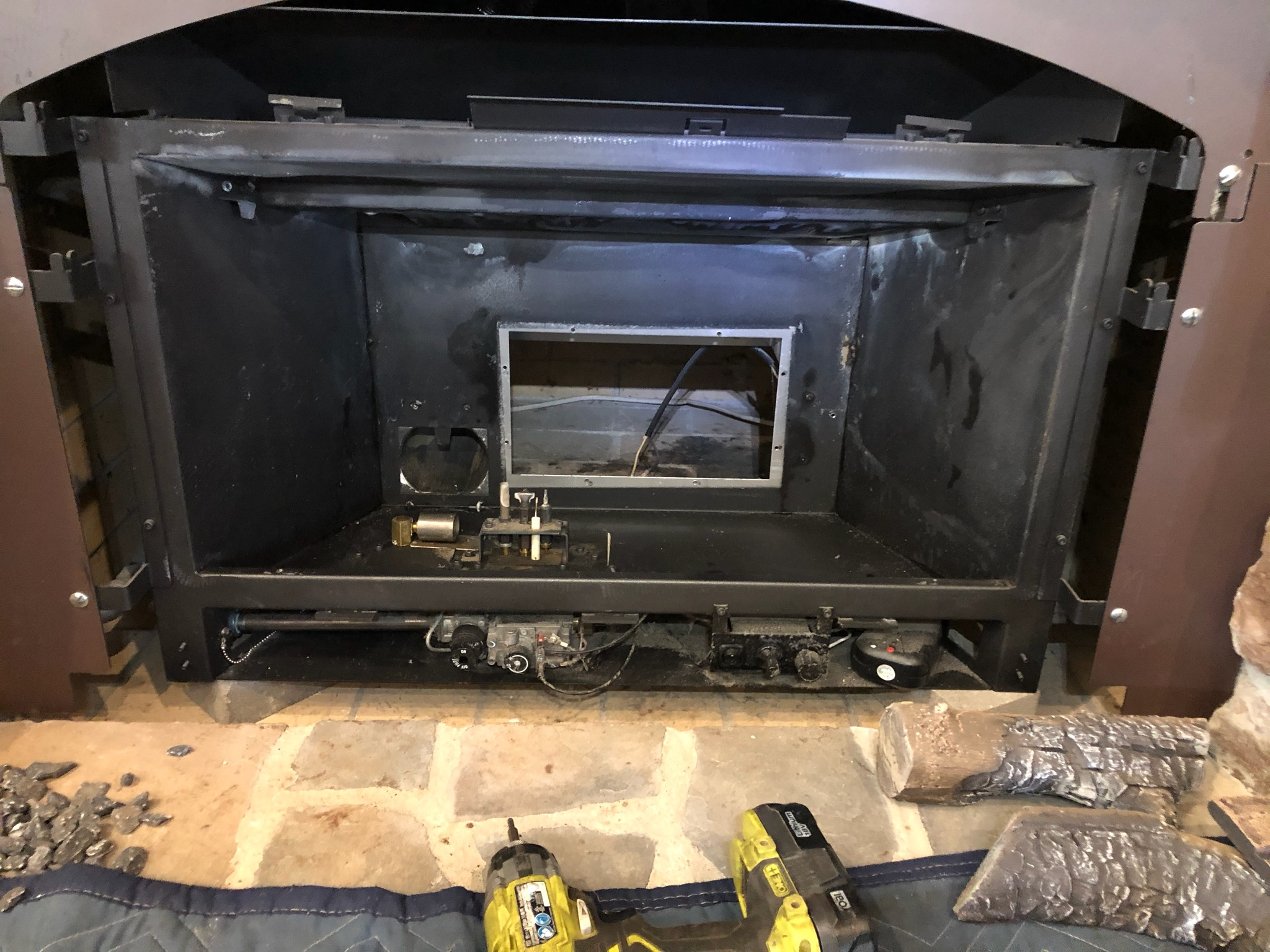 during stove tune up cleaning