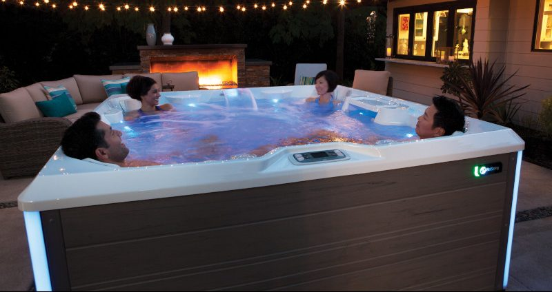 View The Next Full Moon From Your Hot Tub