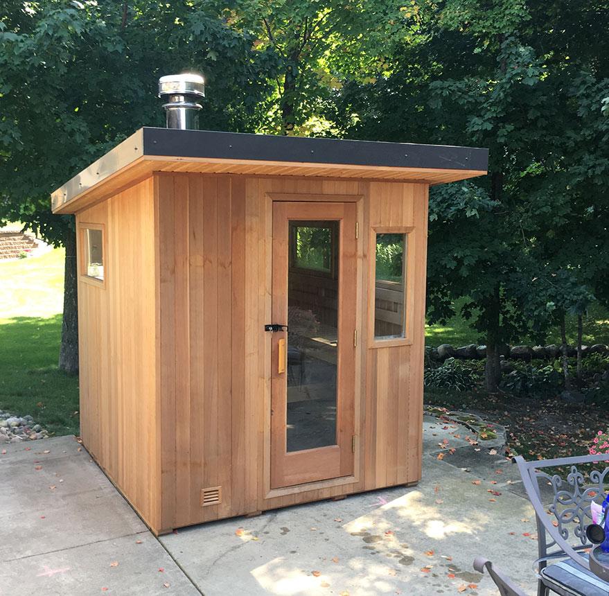Euro Patio Sauna - Richards Total Backyard Solutions