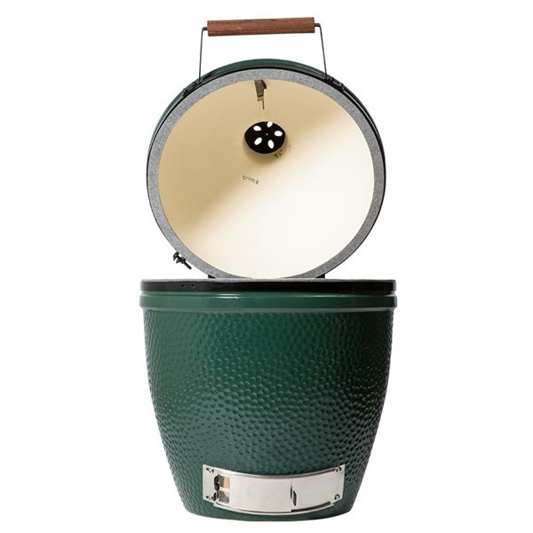 Large Big Green Egg product open