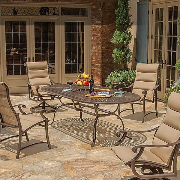 600x600 Tropitone Patio Tables Fun Outdoor Living