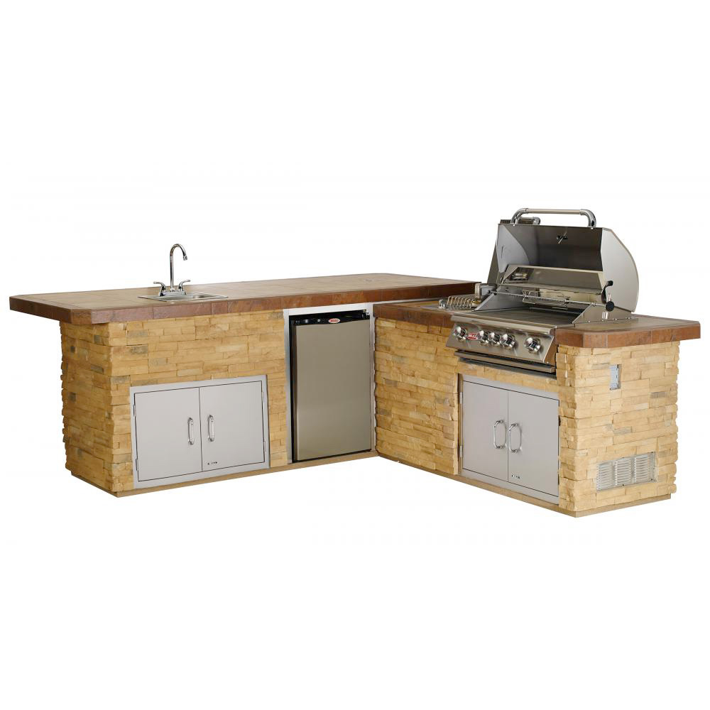 Gourmet Q Outdoor Grill Island By Bull Outdoor Products: Fun Outdoor Living