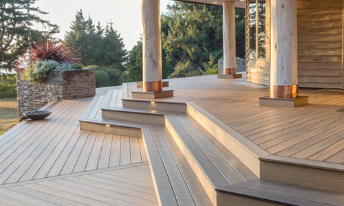 Timbertech decking installed in Indian Trail, NC
