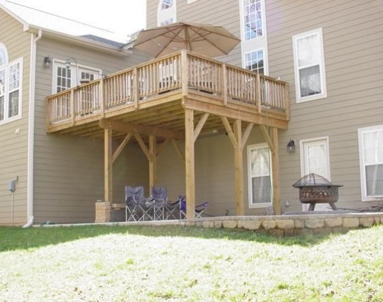 Deck, Stairs & Raised Patio Family Image