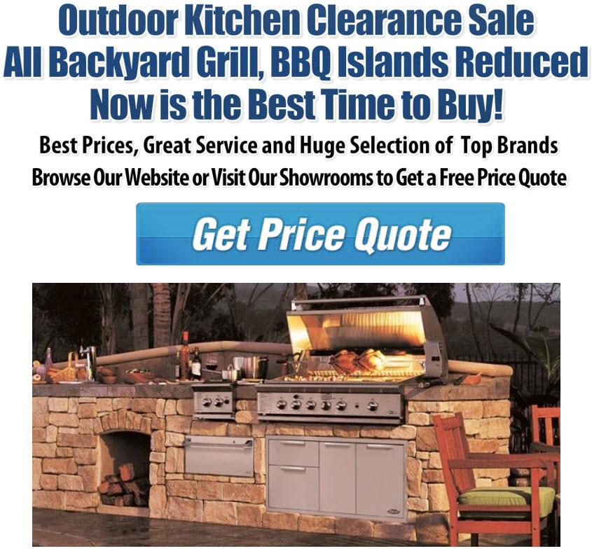 Huge Outdoor Kitchen Sale Fun Outdoor Living