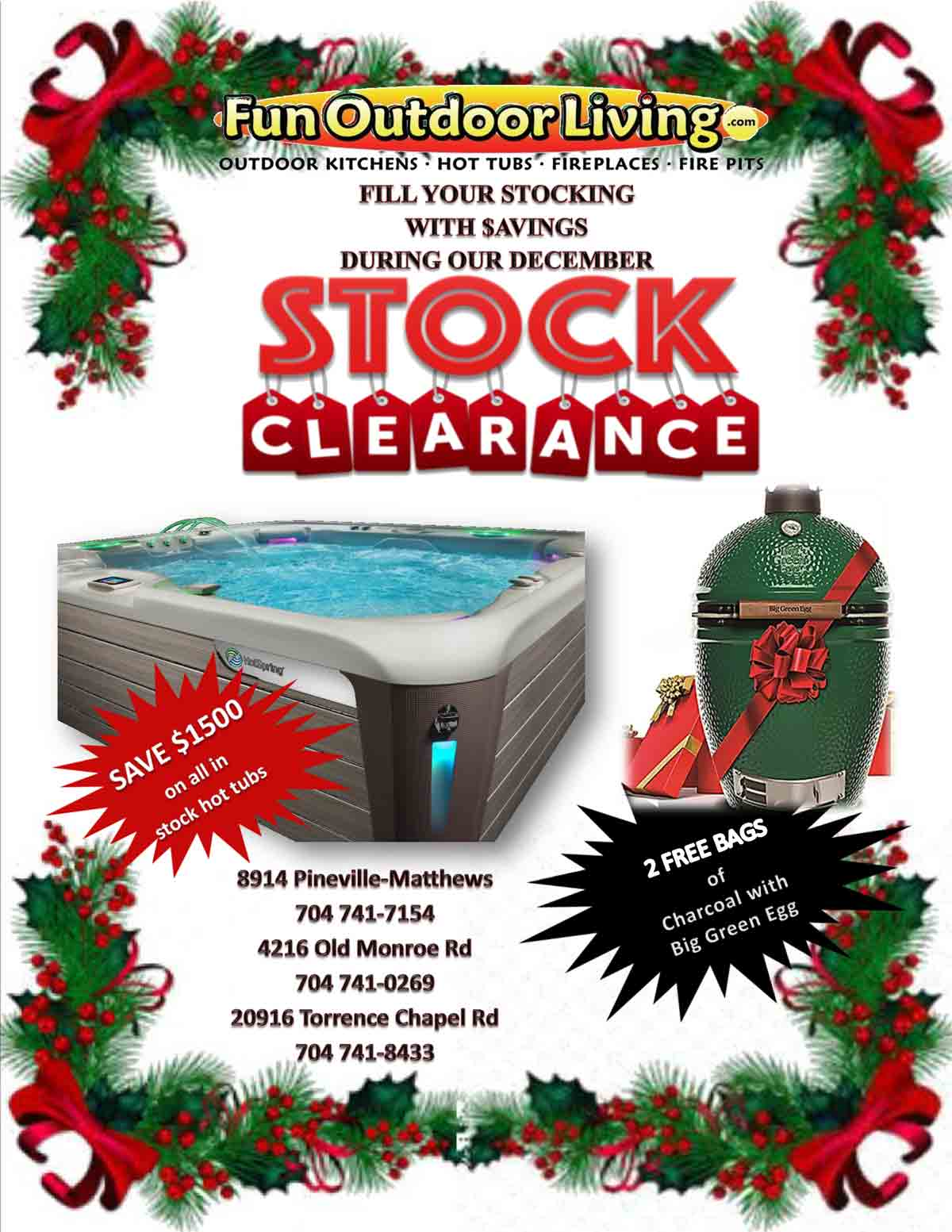 """""""Fill Your Stocking"""" Clearance Sale"""