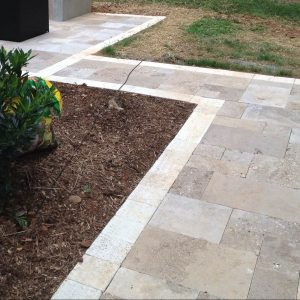 Fun Outdoor Living's stone walkways and stairs construction