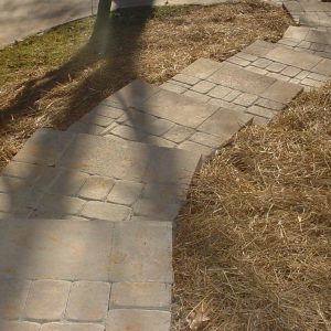 Fun Outdoor Living stone walkways and stairs construction and installation
