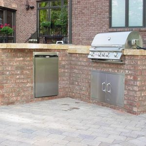 Fun Outdoor Living construction and installation of an outdoor kitchen
