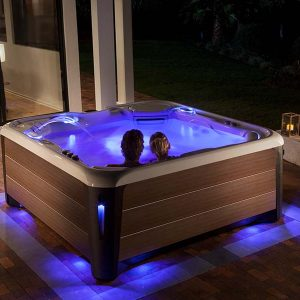 hot tub lights on Hot Spring highlife