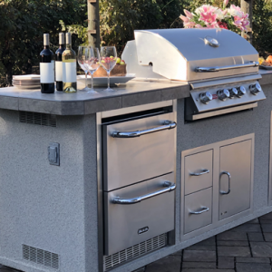 Bull Grill Outdoor Kitchen Island in Charlotte