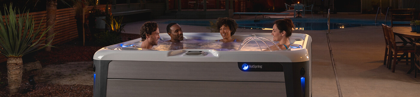 Hot Spring Hot Tubs Highlife Collection