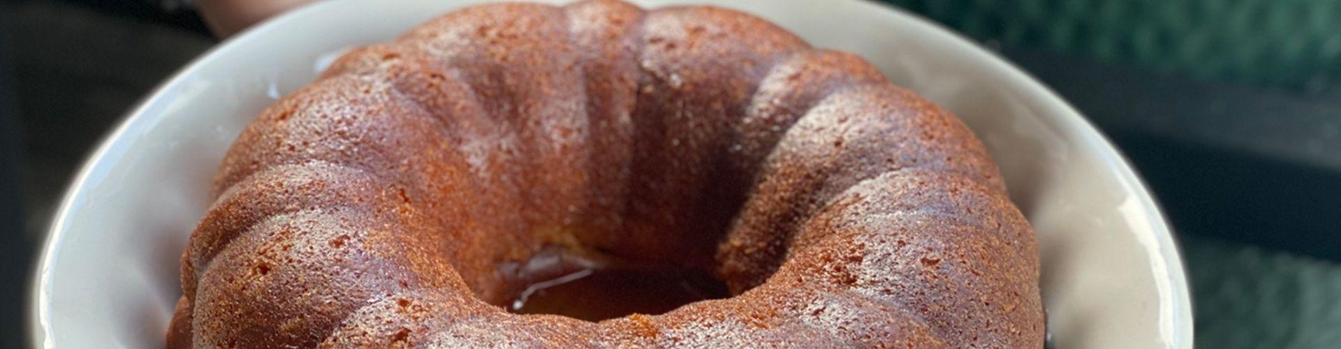 Rum Cake – Big Green Egg