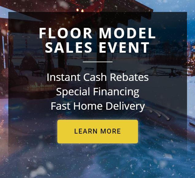 Floor Model Sales Event
