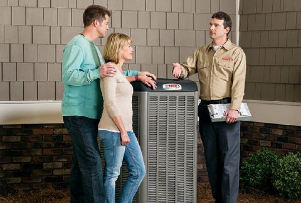 HVAC service technician on call in Brevard County