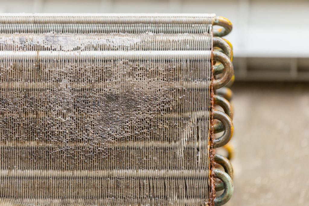 Clogged and Dirty Evaporator Coils and Condenser