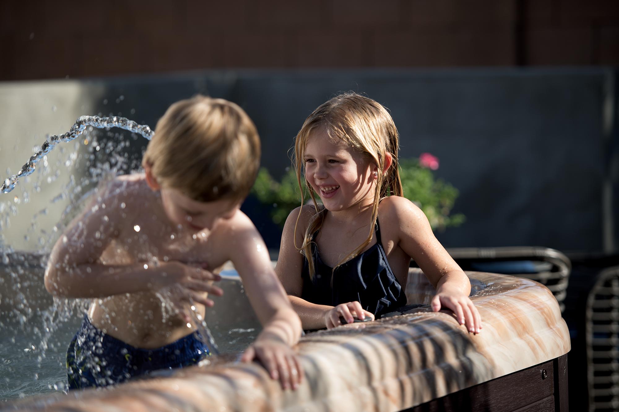 American Whirlpool® Spas Family Image