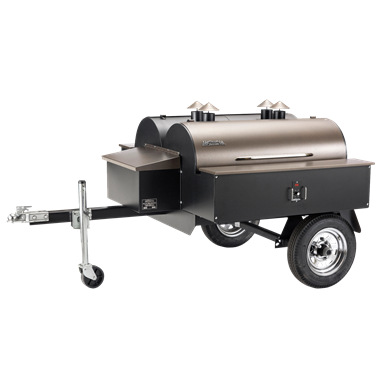 Traeger Grills Double Commercial Trailer Wood Pellet Grill