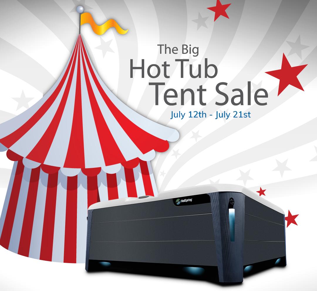 Big Hot Tub Tent Sale