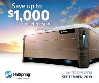 Hot Spring Instant Rebate Sale