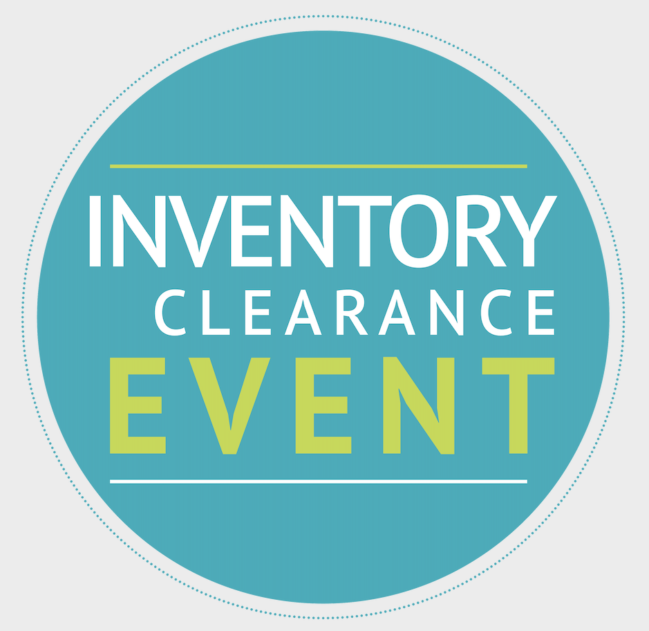 Inventory Clearance Event