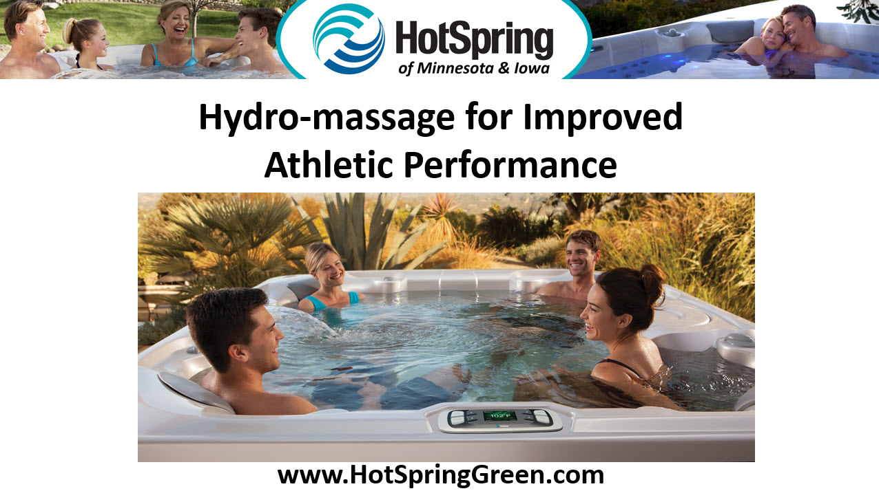 Hydro-Massage and Athletic Performance, Hot Tubs and Saunas Minneapolis