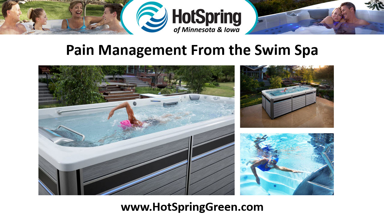 Manage Pain Using Swim Spas, West Des Moines Lap Pool Dealer