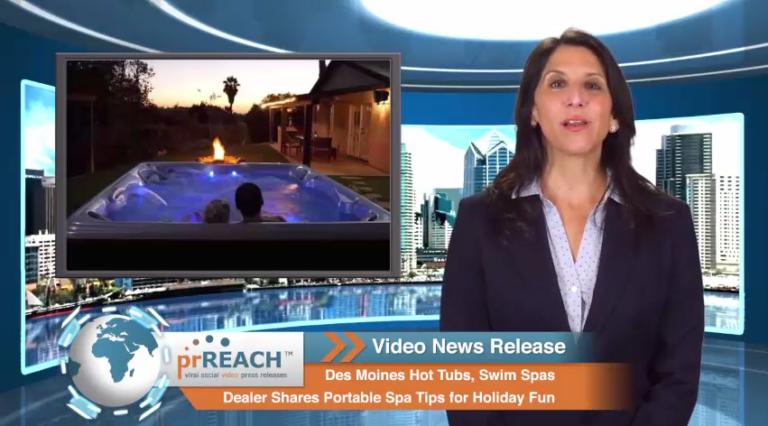 Hot Tubs Des Moines, Dealer Shares Portable Spa Tips for Holiday Fun