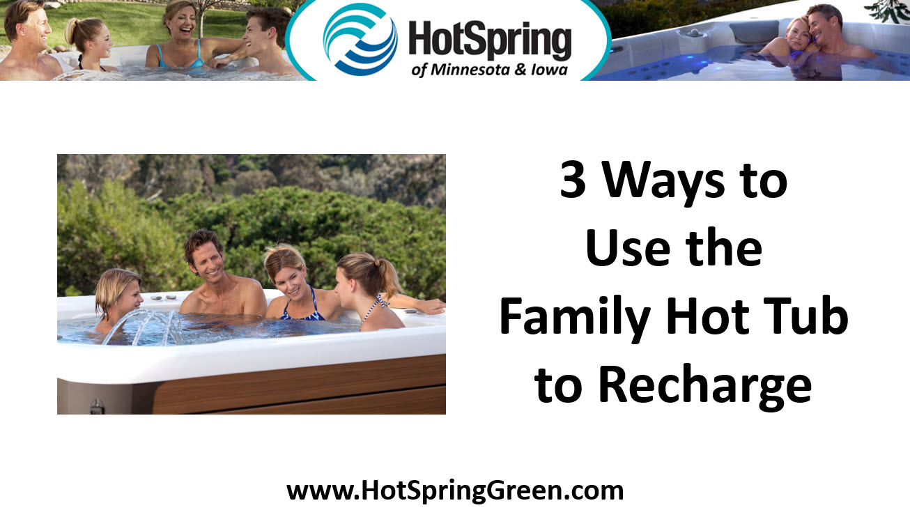3 Ways to Use a Portable Spa to Recharge, Hot Tubs Des Moines