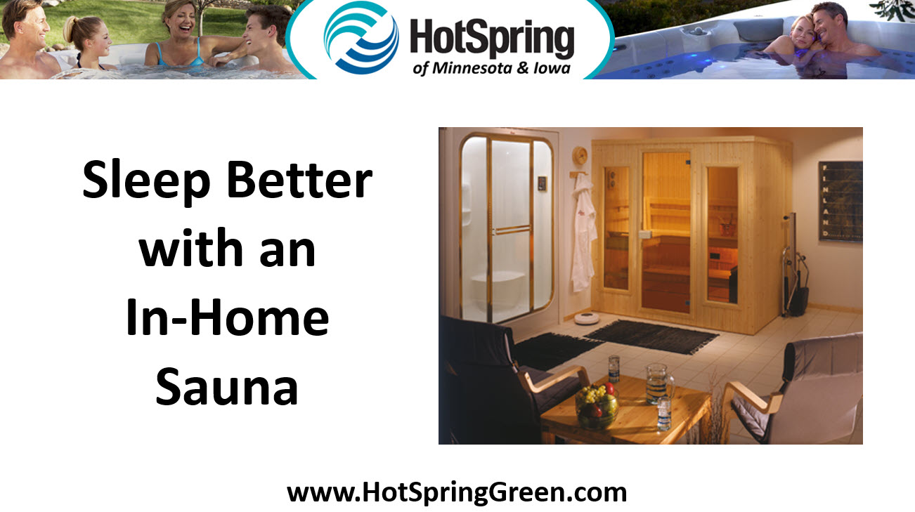 Sleep Better with an In-Home Sauna, Infrared Outdoor Saunas Des Moines